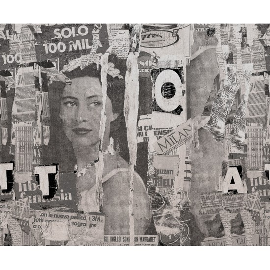 LONDON ART LAURA WALLPAPER