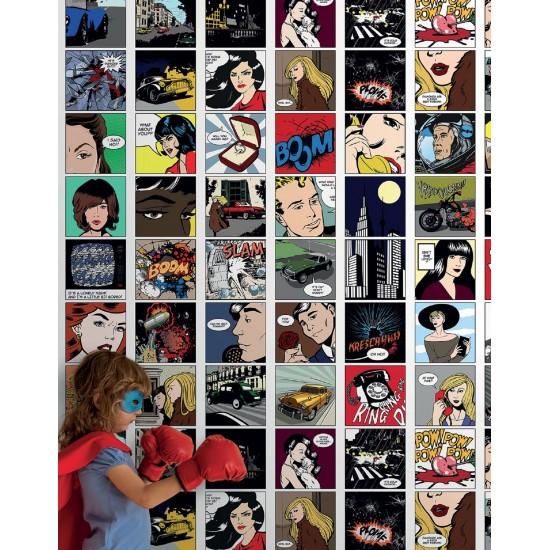 LONDON ART PETER WALLPAPER FOR KIDS