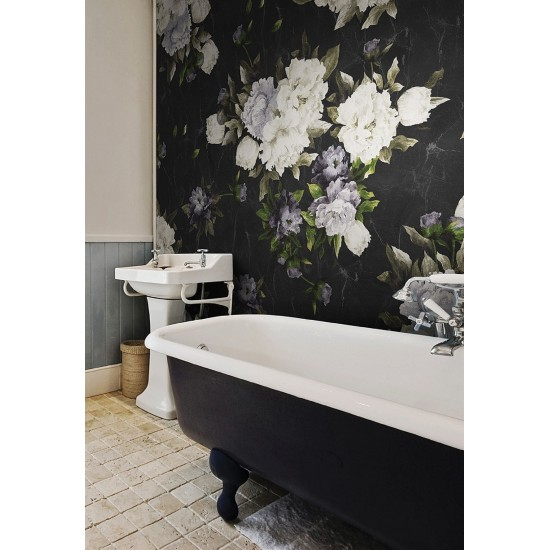 LONDON ART THE ENGLISH ROSES WALLPAPER