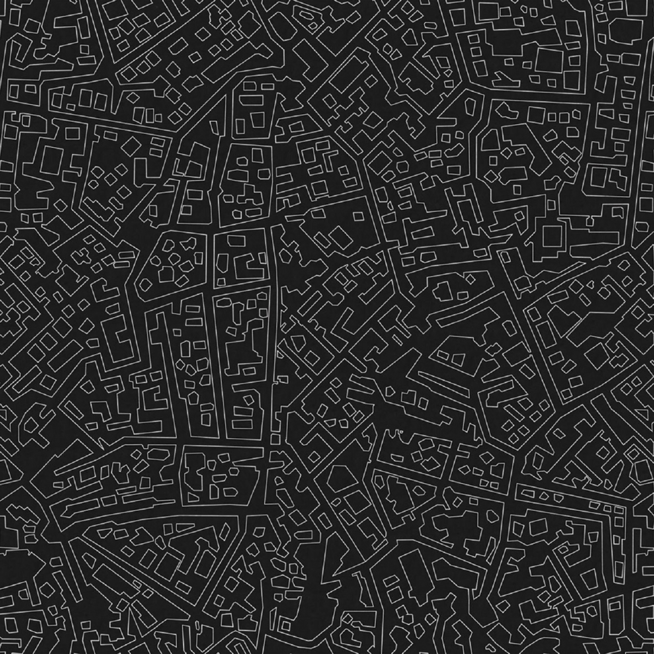 LONDON ART CITYMAP WALLPAPER