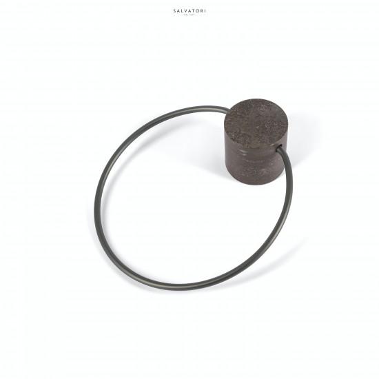 Salvatori Fontane Bianche Towel Ring