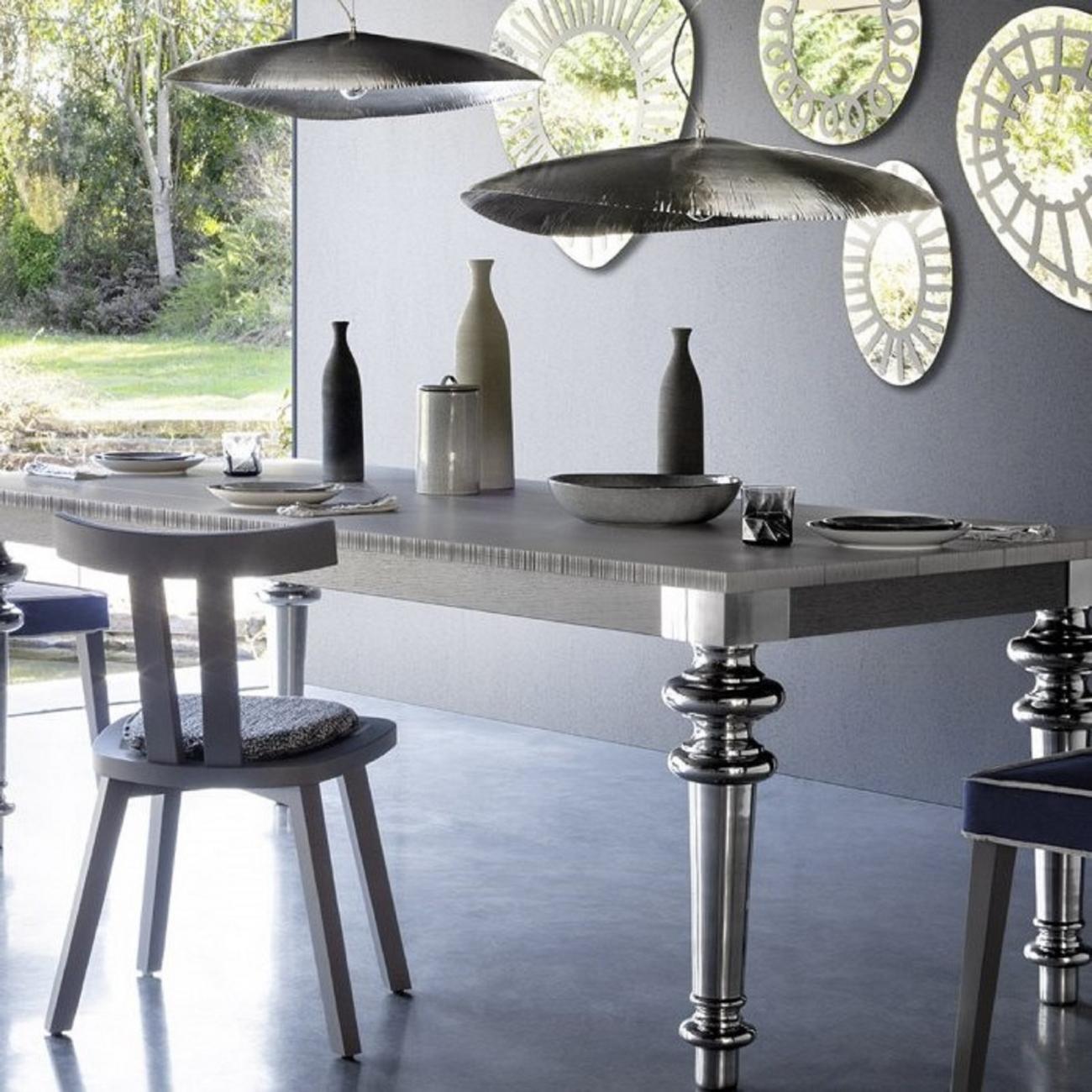Gervasoni Silver 95 Suspension Lamp