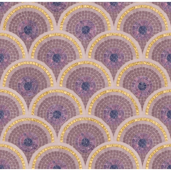 BISAZZA DECORI LOOP PURPLE