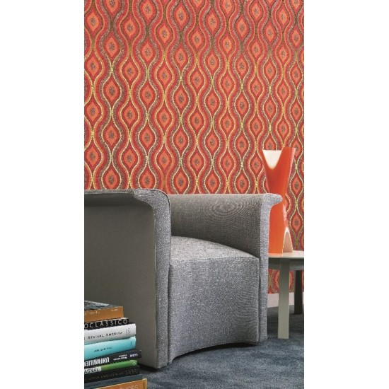 BISAZZA DECORI DROPS RED