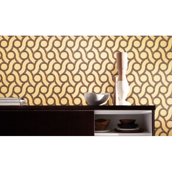 BISAZZA DECORI PLAIT BROWN