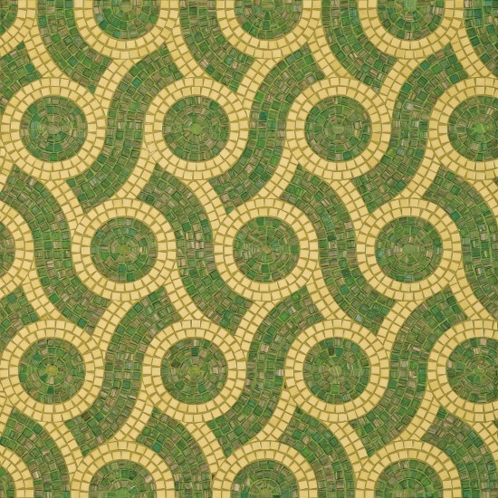 BISAZZA DECORI PLAIT GREEN