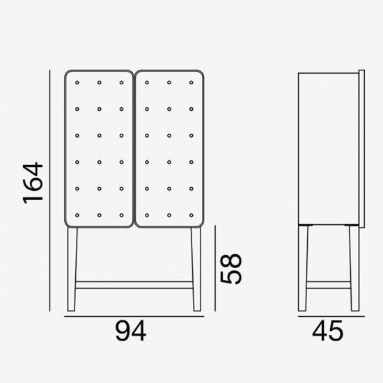 Gervasoni Brick 85 Storage unit