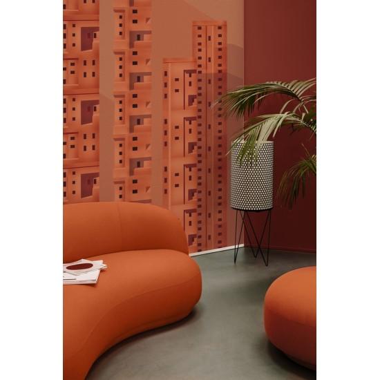 Wall & Decò Terracotta Wallpaper