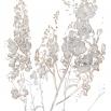 LONDON ART IN FLOWER WALLPAPER