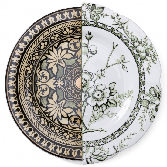 Seletti Hybrid Lothal dinner plate
