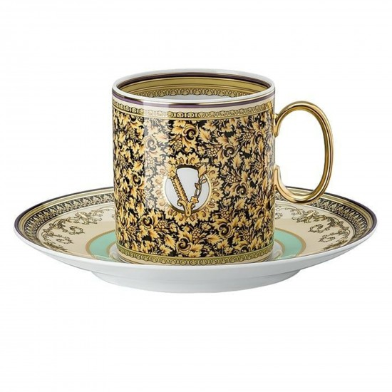 Rosenthal Versace Barocco Mosaic Coffee Cup Tall