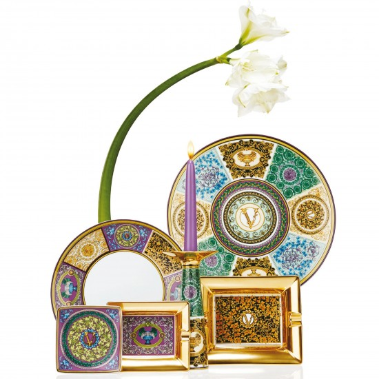 Rosenthal Versace Barocco Mosaic Vaso / Porta candele