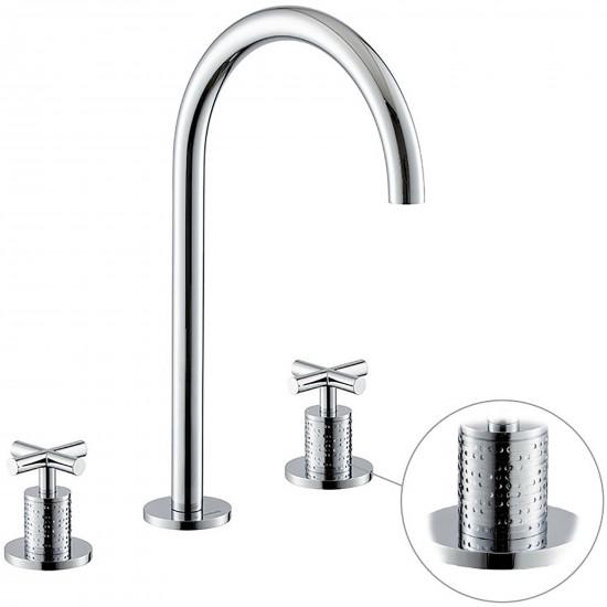 Newform Blink Luxury 3 holes basin mixer