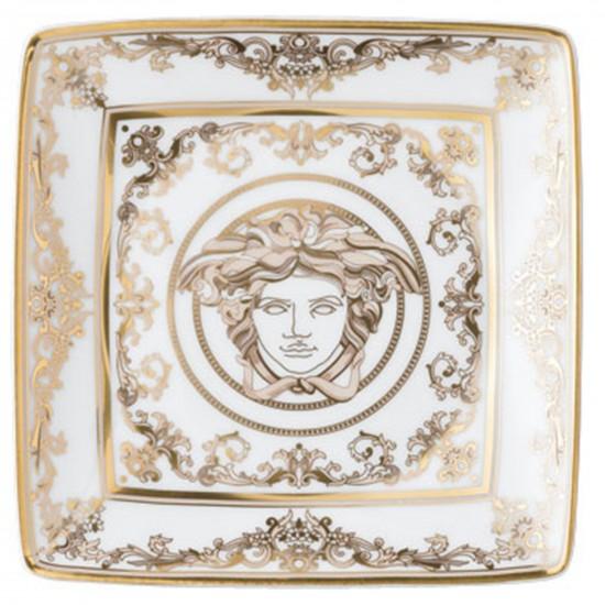 Rosenthal Versace Medusa Gala Coppetta quadra piana 12 cm