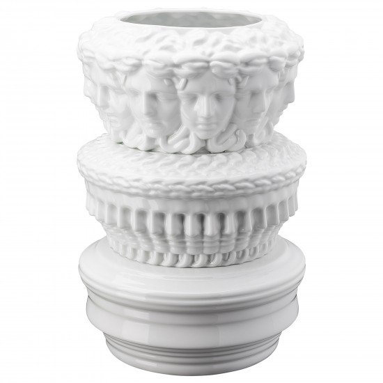 Rosenthal Versace Euphoria Limited Object White Vase