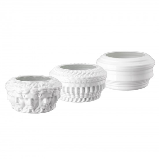 Rosenthal Versace Euphoria Limited Set White Vases