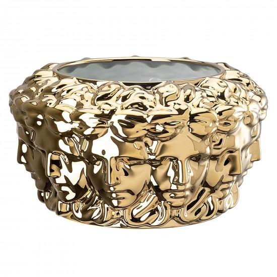Rosenthal Versace Euphoria Lim. Edition Gold Vaso