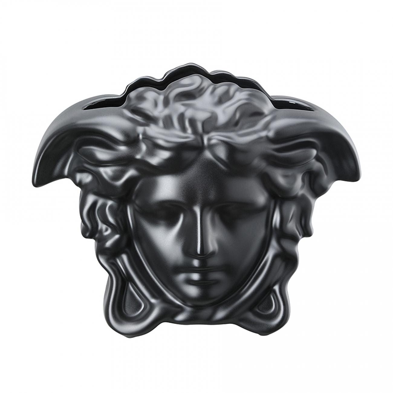 Rosenthal Versace Medusa Grande Black Vase