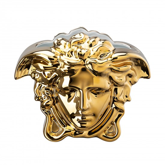 Rosenthal Versace Medusa Grande Gold Vaso