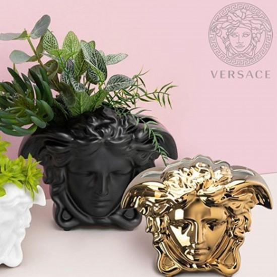 Rosenthal Versace Medusa Grande Gold Vase