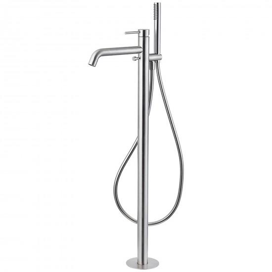 Newform X Steel 316 floor mounted bath group