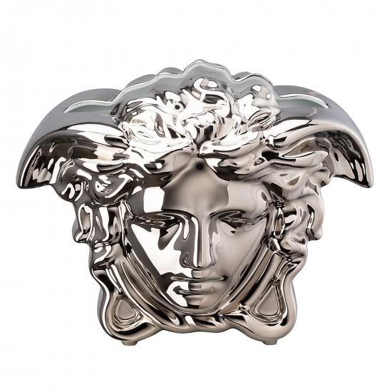 Rosenthal Versace Medusa Grande Silver Vase