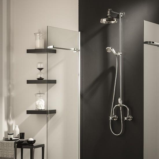 Newform Daytime wall mounted shower column