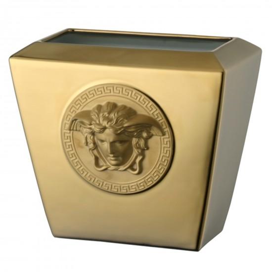Rosenthal Versace Medusa Gold Vase