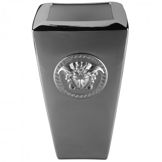Rosenthal Versace Medusa Platin Vase