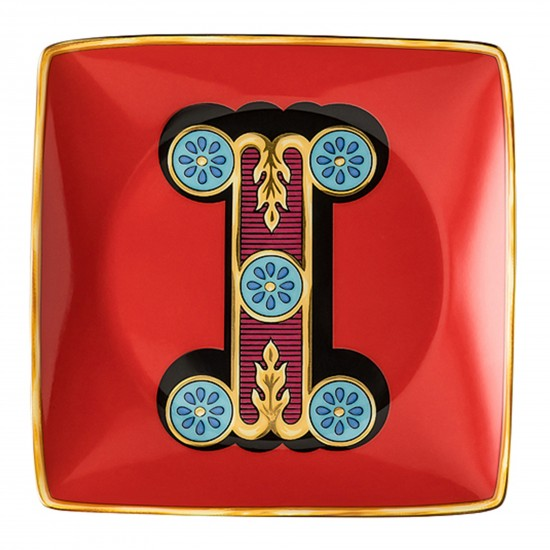 Rosenthal Versace Alphabet I Bowl square flat