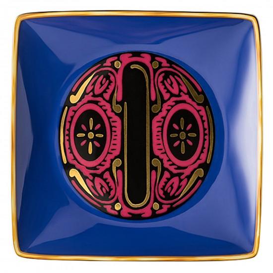 Rosenthal Versace Alphabet O Bowl square flat