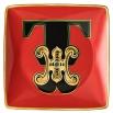 Rosenthal Versace Alphabet T Coppetta quadra piana