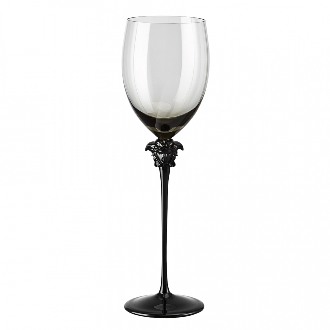 Rosenthal Versace Medusa Lumière Haze Red wine Goblet