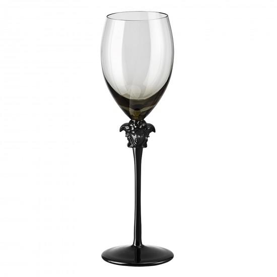 Rosenthal Versace Medusa Lumière Haze Calice vino bianco