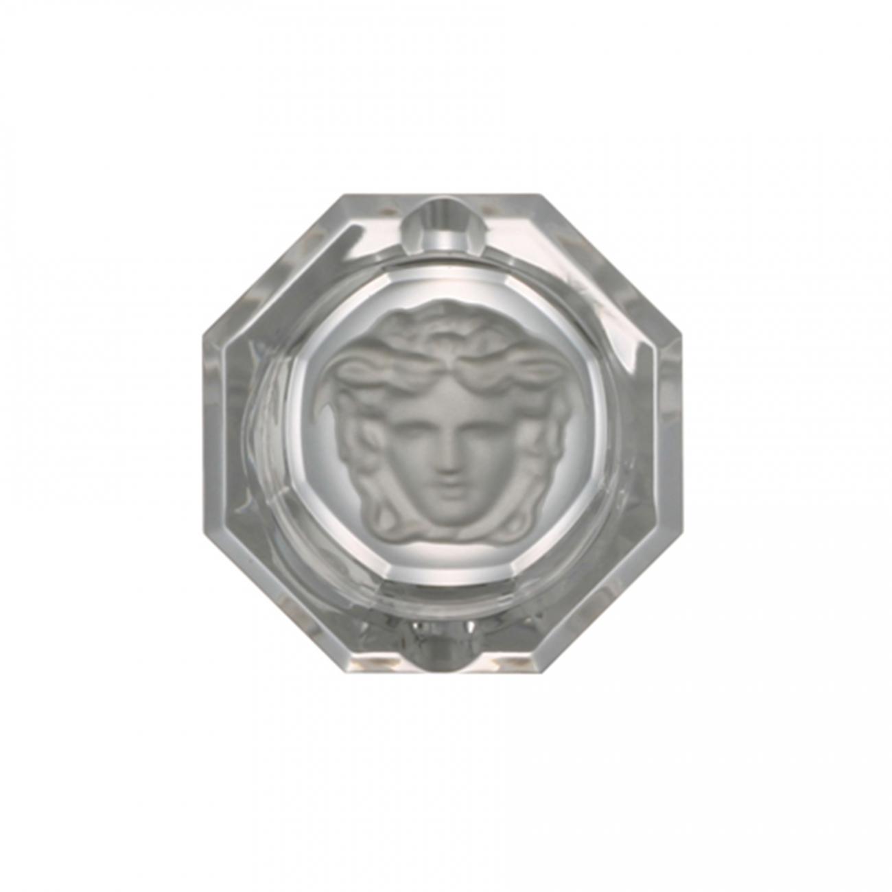 Rosenthal Versace Medusa Lumière Glass coaster