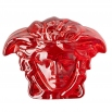 Rosenthal Versace Medusa Lumière Red Paperweight