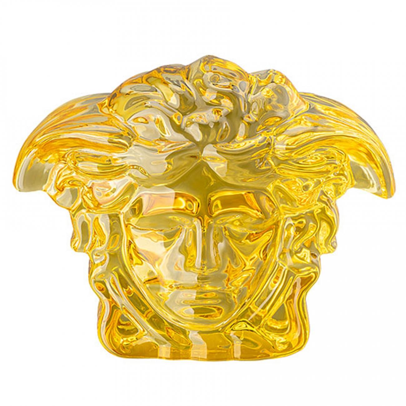 Rosenthal Versace Medusa Lumière Amber Fermacarte
