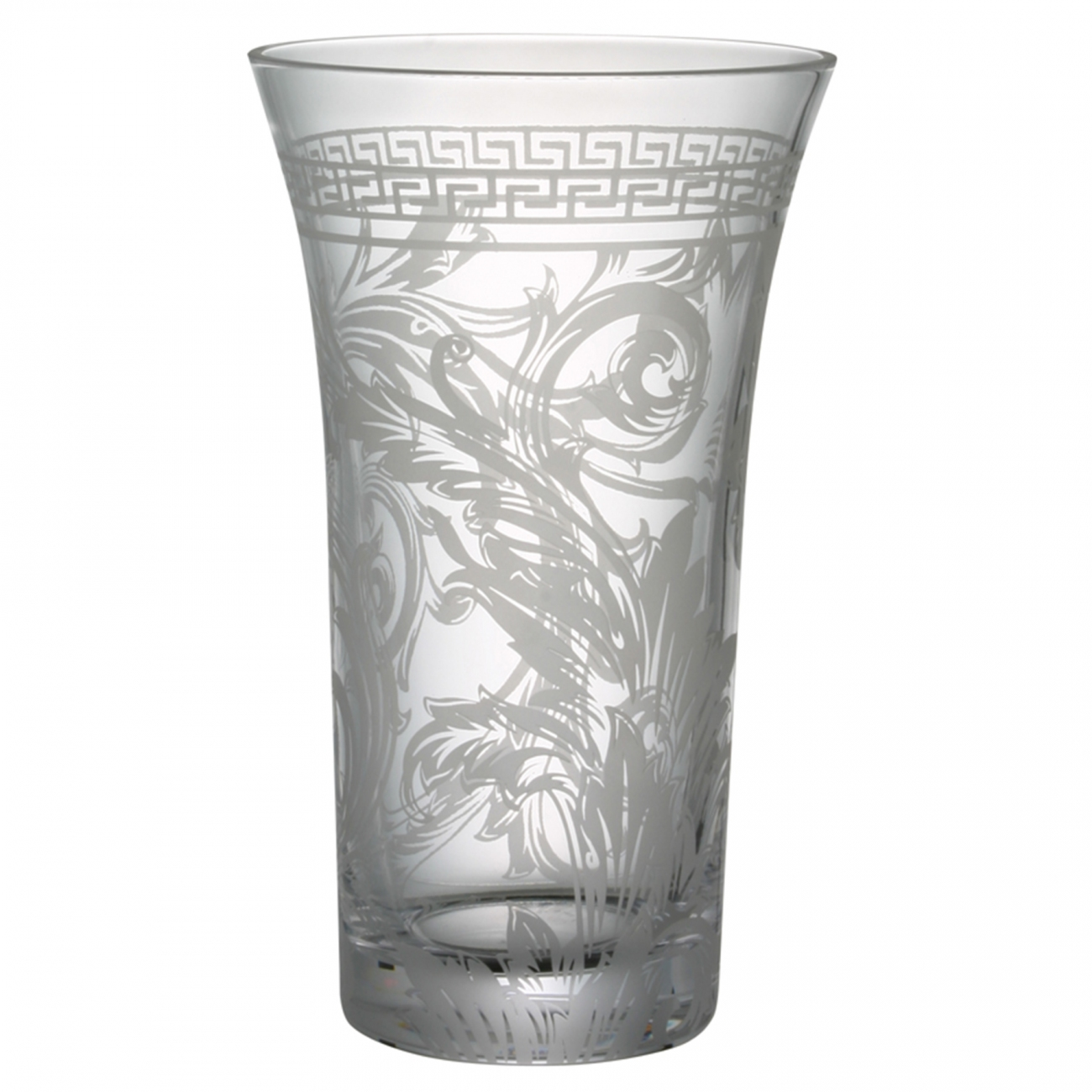 Rosenthal Versace Arabesque Crystal Vaso