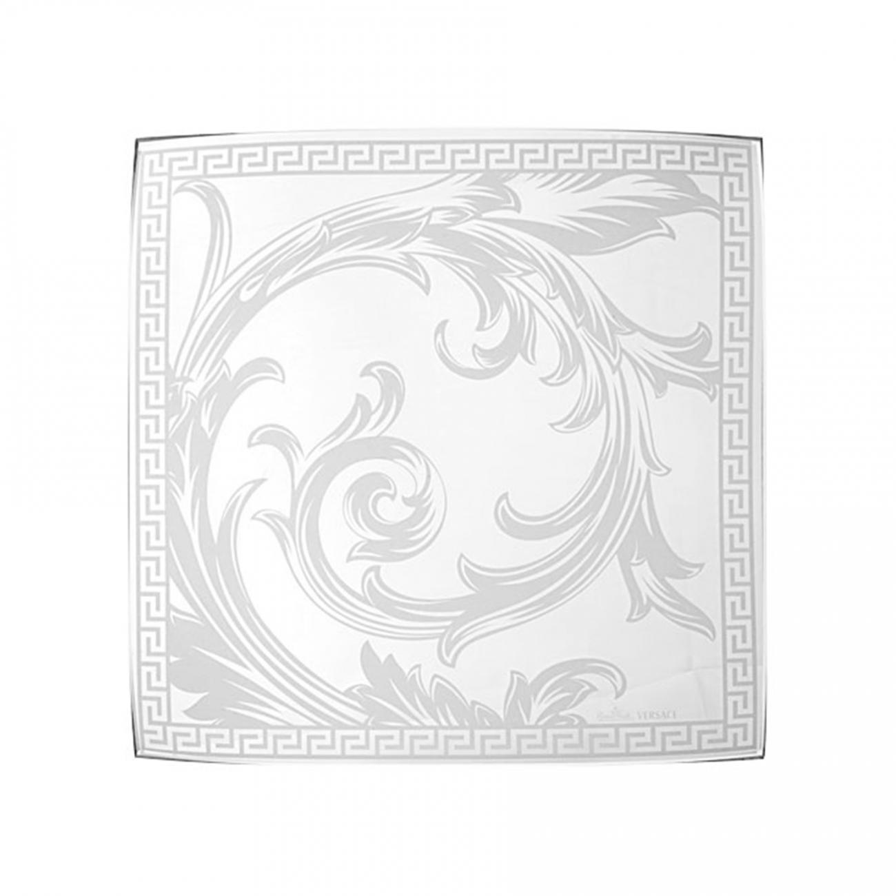 Rosenthal Versace Arabesque Crystal Coppa quadrata