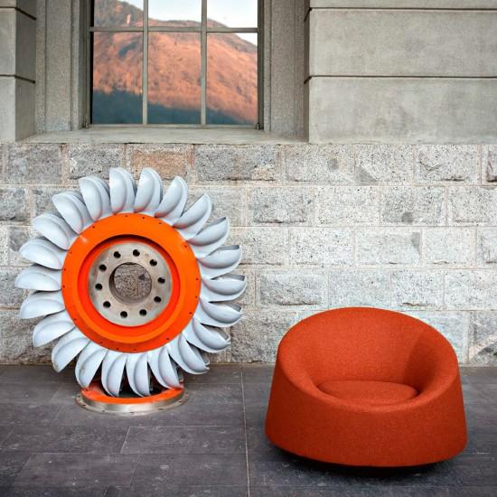 Tacchini Crystal Round armchair