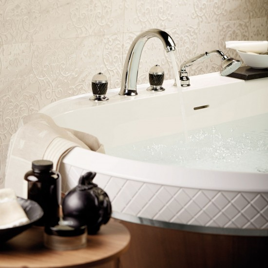 NEWFORM DELUXE DECK MOUNTED BATH GROUP