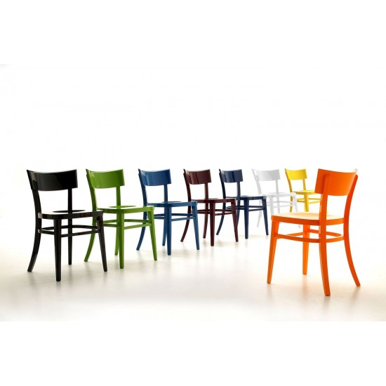 HALIFAX HOSTERIA WOODEN CHAIR LACQUER