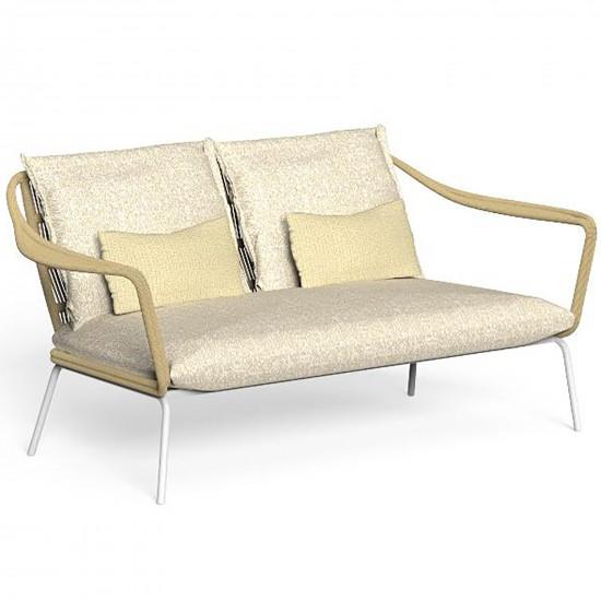 Talenti Cruise Alu sofa love seat