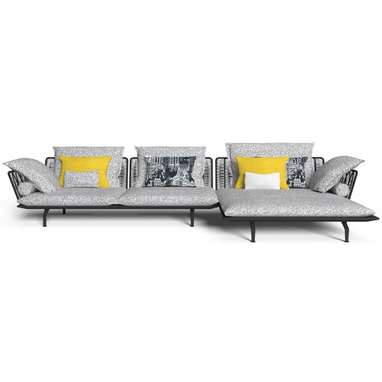 Talenti Cruise Alu divano modulare