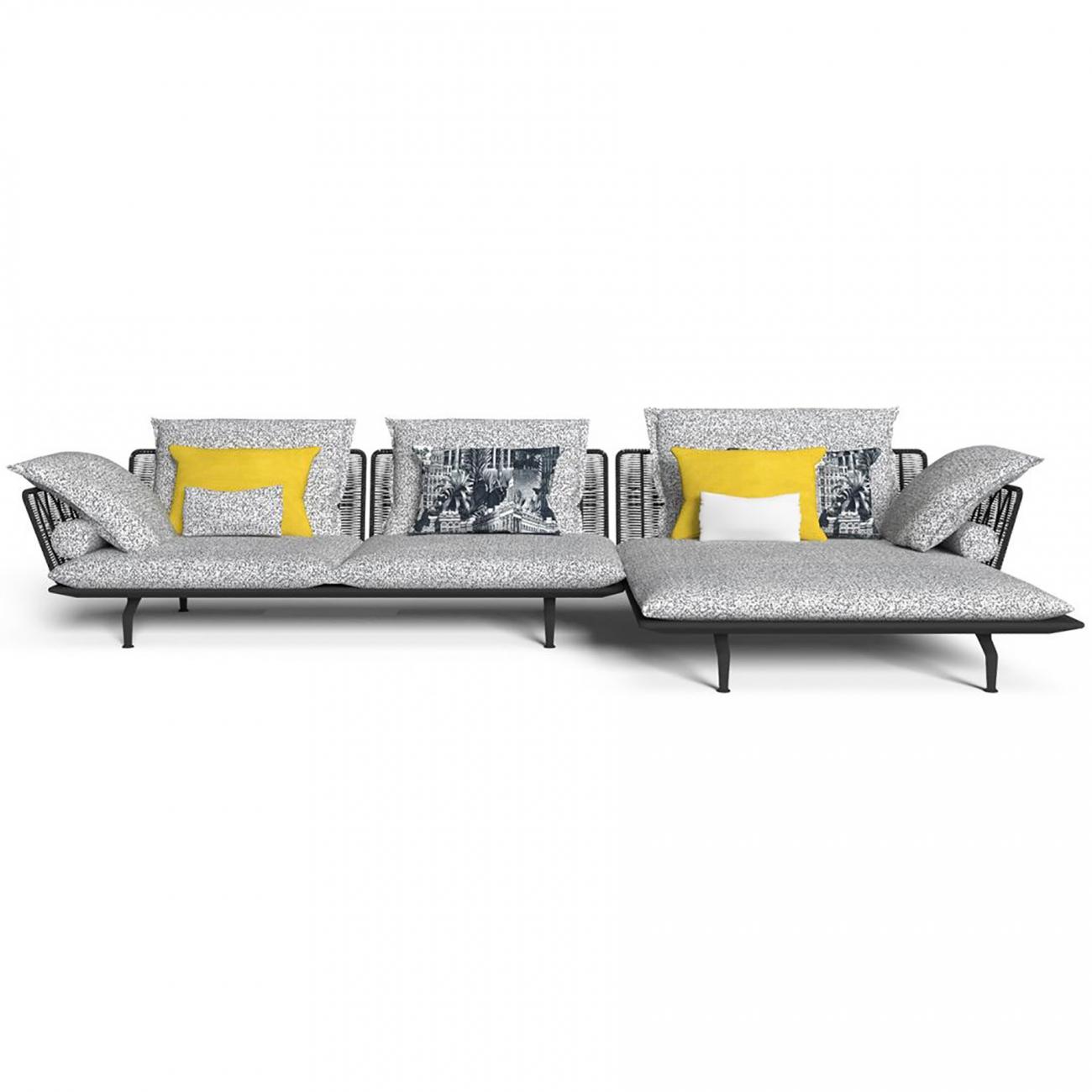 Talenti Cruise Alu modular sofa