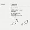Tacchini Slalom Chaise longue