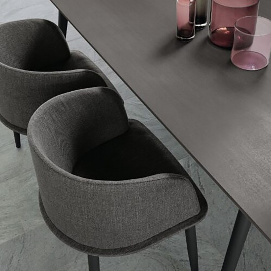 Talenti Cloe Alu dining table