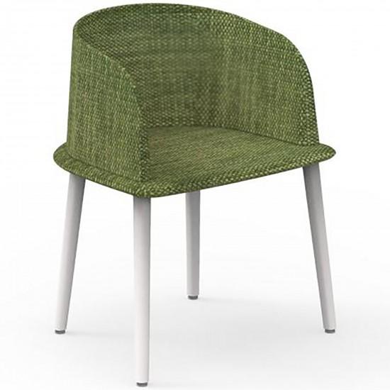 Talenti Cloe Alu padded chair