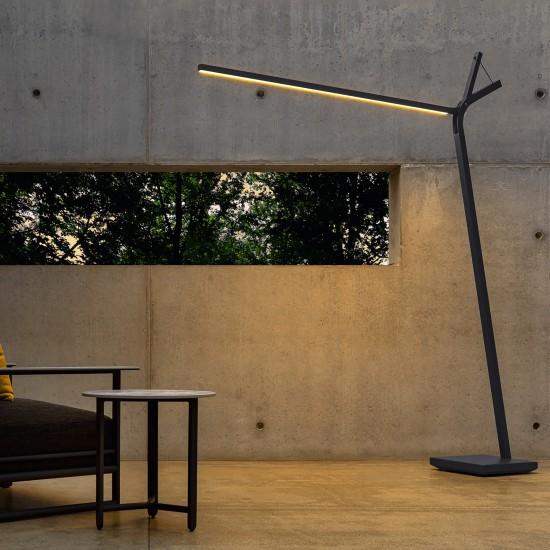 Talenti Cloe Alu floor lamp