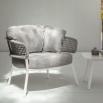 Talenti Moon Alu living armchair